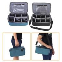 Waterproof DSLR Camera Lens Bag with Strap Insert Partition Pouch Protect Case