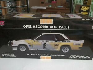 Sun Star 5351 - Opel Ascona 400 Rallye Monte Carlo 1980 - 1/18 Brand NEW