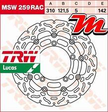 Disque de frein Avant TRW Lucas MSW 259 RAC pour Suzuki GSR 600 A ABS WVB9 06-10