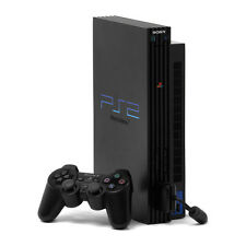 Sony PlayStation 2 Fat Black Console