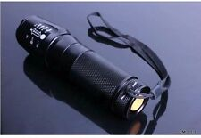 LED Flashlight 2000LM Zoomable CREE XML T6 Focus Torch Zoom Lamp Light Outdoor