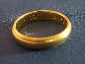 Goldring 585 Gelb Gold,  3,7 Gramm