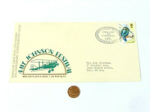 1980 Amy Johnson Festival Kingston upon Hull FIRST SOLO FLIGHT 50th Anniv Cover
