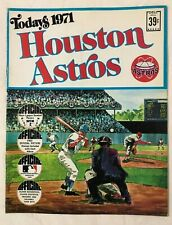Houston Astros Today's 1971 Official Picture Stamps Book by Dell