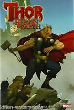 Thor Heaven And Earth Hardcover Comic Book 2010 Edition - Marvel