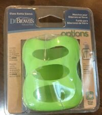Dr. Brown's Wide Neck Glass Bottle Sleeve, Light Green, 5 Ounce