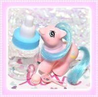 ❤️My Little Pony MLP G1 Vtg Newborn Twin SLEEP TIGHT Pink Baby Slumber Party❤️