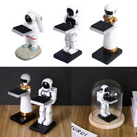 Jewelry Resin Wrist Watch Display Stand Spaceman Table Storage Organization .