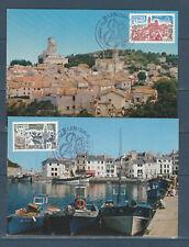 carte  1er jour  la paire Europa  75  Paris      1977