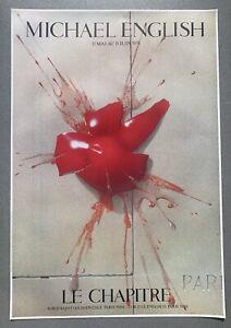 Michael English - Mur De Paris. Le Chapitre Exhibition Poster 1979 Limited