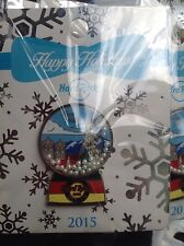 HRC HARD ROCK CAFE Munich, SNOW GLOBE/Holiday Series pin 2015, le 150