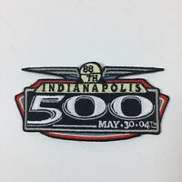 2004 Indianapolis 500 Racing Patch 88th Indy Travel State Souvenir
