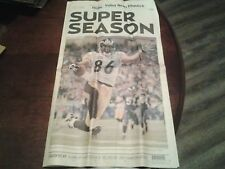 SUPER BOWL XL PITTSBURGH STEELERS SUPER SEASON 06 NEWSPAPER VALLEY NEWS DISPATCH