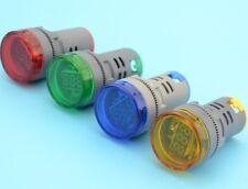 22mm Car Motor LED Digital Display Volt Meter Voltage Voltmeter AC 60-700V New