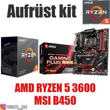 PC Bundle Kit Set ❤ AMD Ryzen 5 3600 ✔ MSI B450 Mainboard ✔