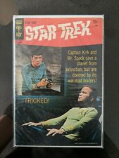 Star Trek  Gold Key 1969 Tricked . Great Photo Cover