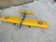 NITRO CONTROL LINE MODEL PLANE WITH ENYA ENGINE FITTED COLLECT ONLY