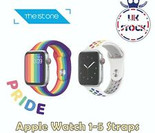 PRIDE Silicone Apple Watch Band Strap Series 5 4 3 2 1 iWatch 38/40mm 42/44mm