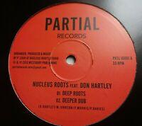 """NUCLEUS ROOTS - Deep Roots / Deeper Dub  10"""" Vinyl 2013 Partial ROOTS REGGAE DUB"""