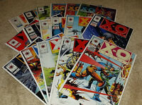 (17) X-O Manowar Valiant Comics Comic Book Lot Bagged/Boarded (1992-1996)