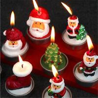 EG_Cadeau de Noël Père Bonhomme neige Bougie chaud décoration Enfants pré