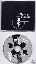 MARILYN MANSON Personal Jesus UK 2-trk promo CD JESUS1 Depeche Mode