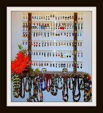 "Earring Glitzy ""BIG""  Girl  Earring & Jewelry Organizer/Holder R2-Berry Paisley"