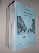 BULLETIN DES AMIS DE REUILLY ET DE SES ENVIRONS - N°17 AU N°101 - 55 N°