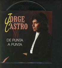 JORGE CASTRO De Punta A Punta 2 TRACK 1994 CARDslv CD SINGL