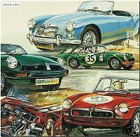 MG - SAFETY FAST - Fine Art Print - MGA MGB GT & MGC - British Sports Car images
