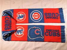 Chicago Cubs Squares Baseball Fleece Scarf GO CUBS!!!!