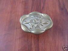 Knob Bob Mackie Floral Ornate Antique Brass Kitchen Cabinet Dresser PN0560