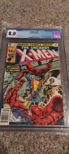 UNCANNY X-MEN 129 CGC 8.0 white pages  Kitty Pryde Emma Frost Shaw not cbcs pgx