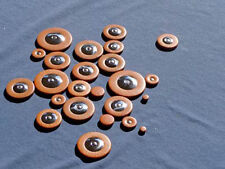C-Melody Sax Pads, saxophone pads - USA Made -  Stainless Steel Resonators