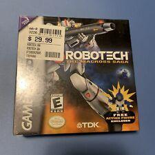 Robotech The Macross Saga (RARE, SEALED) Nintendo Game Boy Advance GBA. Insured!