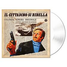 G.e M.DE ANGELIS Il cittadino si ribella (ltd.ed. crystal vinyl)  O.S.T. LP