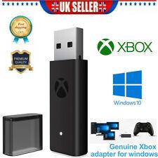 Microsoft Xbox One Wireless Adapter For Windows 7 8 10 Win 10 Laptop USB Black
