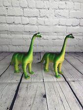 Vintage 1985 Dinosaur Imperial Brachiosaurus Super Nice Chinasaur Lot Of 2