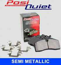REAR SET Posi Quiet Semi Metallic Brake Disc Pads (+ Hardware Kit) 104.12790