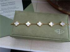 Van Cleef & Arpels Bracelet en or jaune à 5 motifs en nacre Alhambra 18K