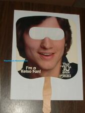 KELSO Ashton Kutcher FAN / MASK That 70's Show KING OF QUEENS Miami UPN 33 RARE