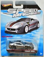 Hot Wheels Speed Machines Ferrari F430 Challenge Blanc / Rouge
