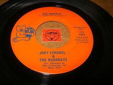JOEY STROBEL & THE RUNAWAYS - SAX SHUFFLE - WHAT  / LISTEN - TEEN GARAGE POPCORN