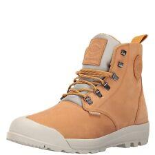 Palladium Pampatech Waterproof Hi Leather Boots 9 $130 Amber Gold
