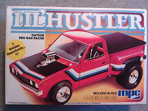 1/25 Scale Vintage MPC Datsun Pro Gas Pickup Parts Junkyard.