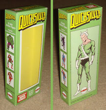 """MEGO 8"""" QUICKSILVER GREEN SUIT CUSTOM BOX ONLY"""