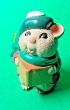 1995 Hallmark Merry Miniature Christmas Caroling Mouse Figurine (C245)
