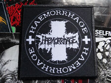Only Here Official Haemorrhage Patch Nr 2 Goregrind EX-Human Mincer Member