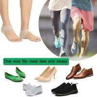 Concealed  Enhancers Invisible Height Increase Silicone Insoles Pads-Free S F4F6