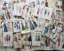 Vintage Sewing Pattern Lot of 50 Vogue Butterick Simplicity McCall Misses Junior